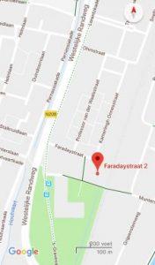 Locatie: Hoge Rijndijk 88 Leiden/ / Faradaystraat 2 Haarlem